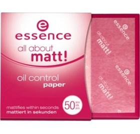 Essence All about matt! матирующие бумажные салфетки