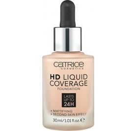 Тональная основа Catrice HD Liquid Coverage Foundation