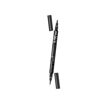 Подводка-фломастер для глаз 2 в 1 Essence eyeliner pen