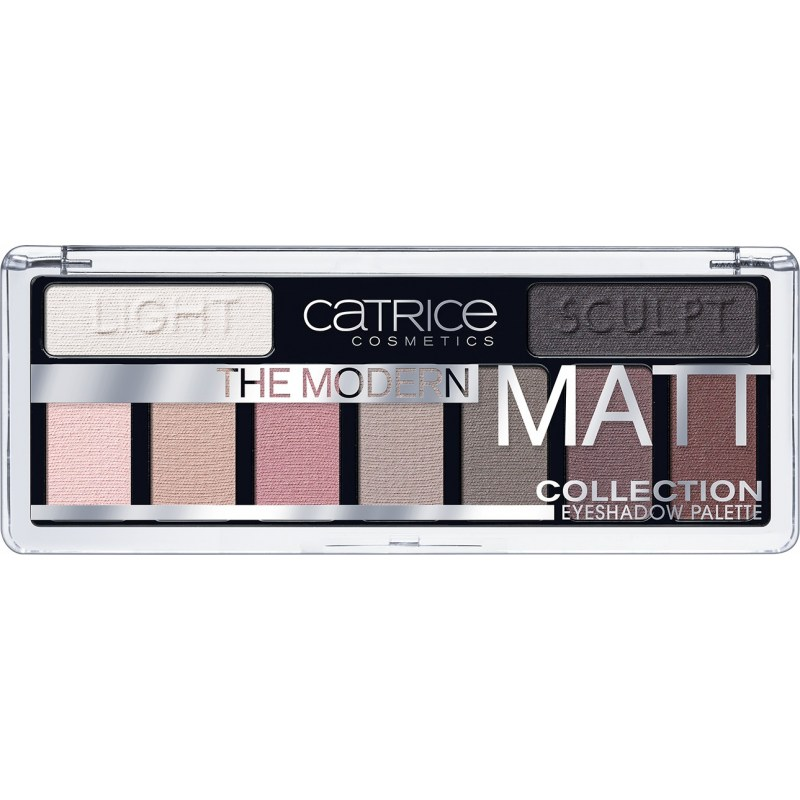 Тени для век Catrice The Modern Matt Collection Eyeshadow Palette