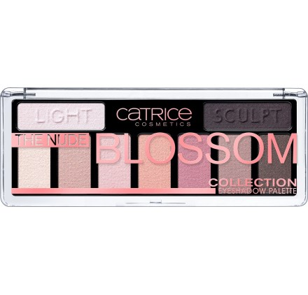 Тени для век Catrice The Nude Blossom Collection Eyeshadow Palette