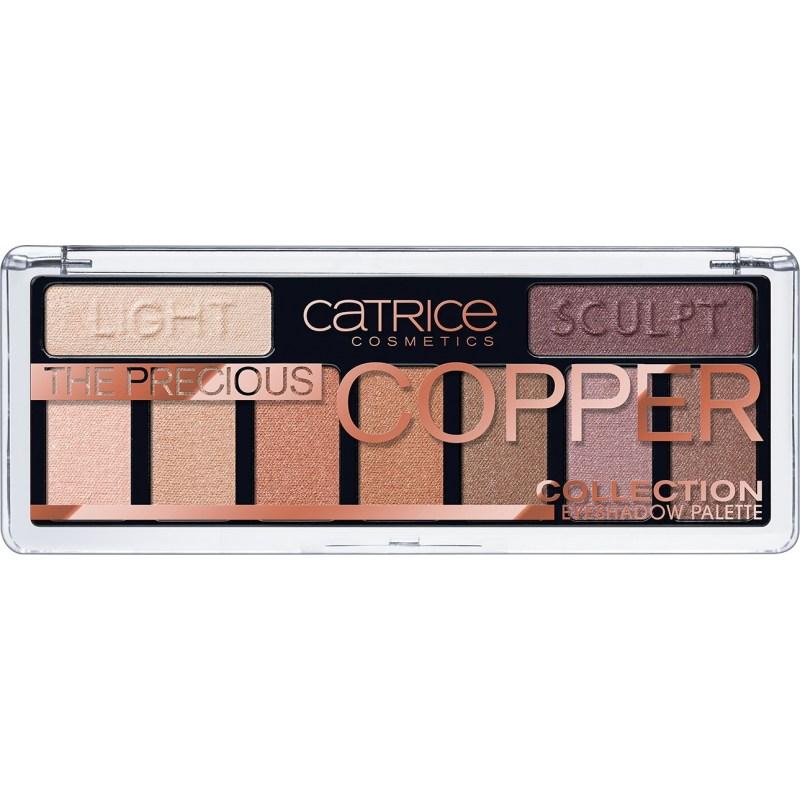 Тестер тени для век Catrice The Precious Copper Collection Eyeshadow Palette