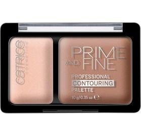 Палетка для контурирования Catrice Prime And Fine Professional Contouring Palette 010