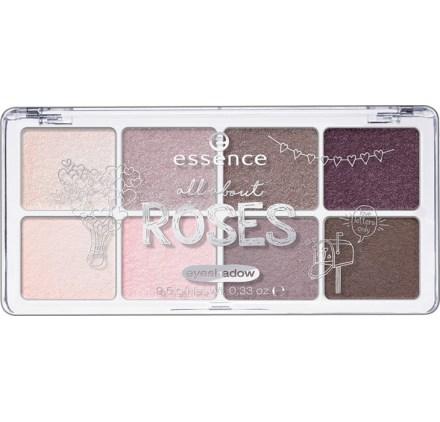 Палетка теней Essence all about … eyeshadow 03 roses