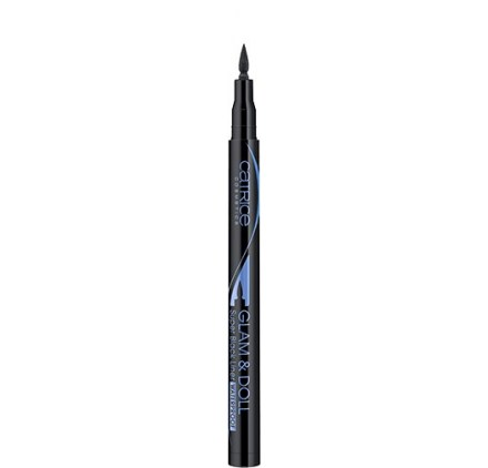 Подводка для глаз Catrice Glam & Doll Super Black Liner Waterproof