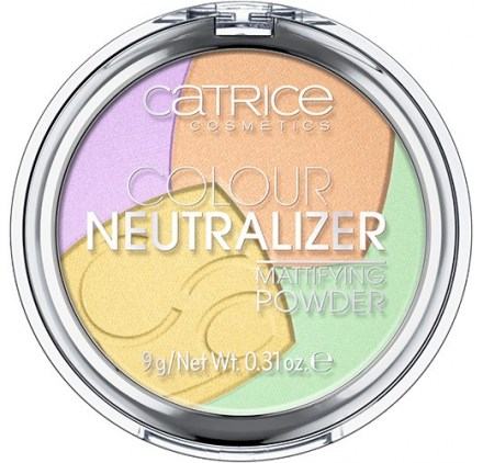 Пудра Catrice Colour Neutralizer Mattifying Powder
