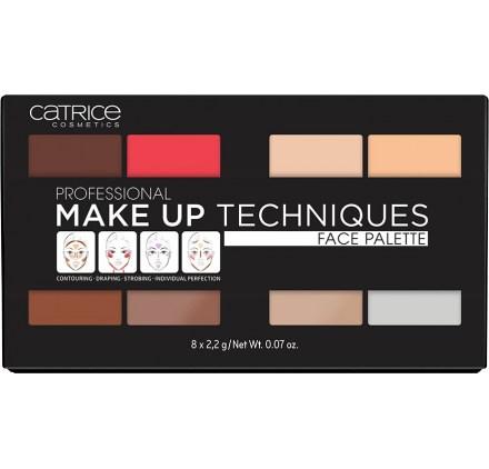Профессиональная палетка для лица Catrice Professional Make Up Techniques Face Palette