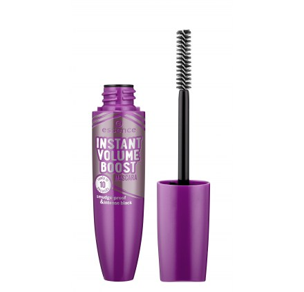 Тушь для ресниц Essence instant volume boost mascara smudge-proof and intense black