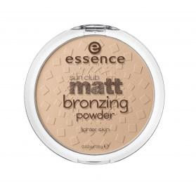 Бронзирующая матовая пудра Essence sun club matt bronzing powder