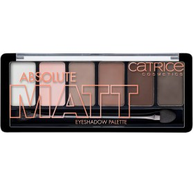 Палетка теней Catrice Absolute Matt Eyeshadow palette