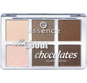 Палетка теней Essence all about … chocolate