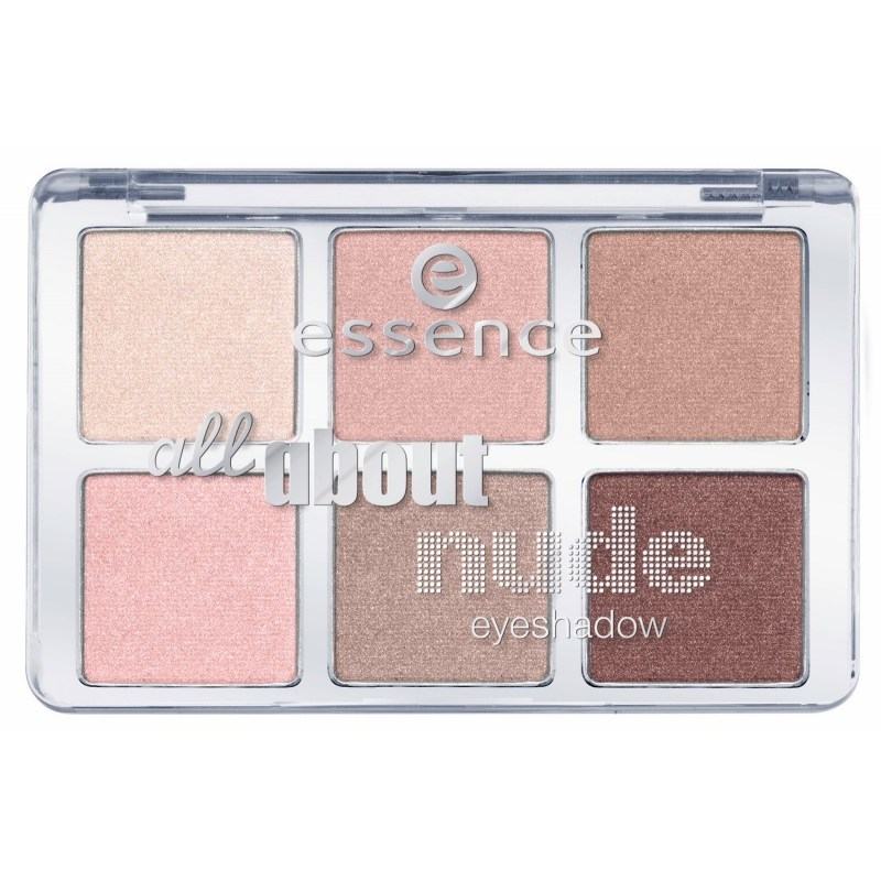 Палетка теней Essence all about … Nude