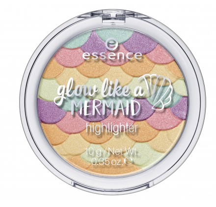 Пудра хайлайтер Essence glow like a mermaid highlighter