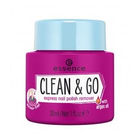 Средство для снятия лака Essence clean & go express nail polish remover