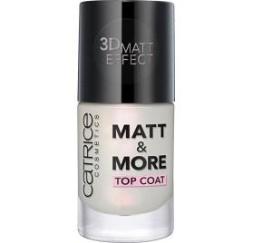 Закрепитель ногтей матовый Catrice Matt & More Top Coat