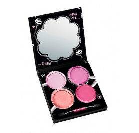 Ароматизированная палетка блесков для губ essence i want candy scented lipgloss palette