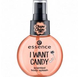 Ароматическая расческа для волос essence i want candy scented hair brush
