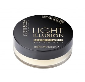 Пудра для лица рассыпчатая Catrice Light Illusion Loose Powder