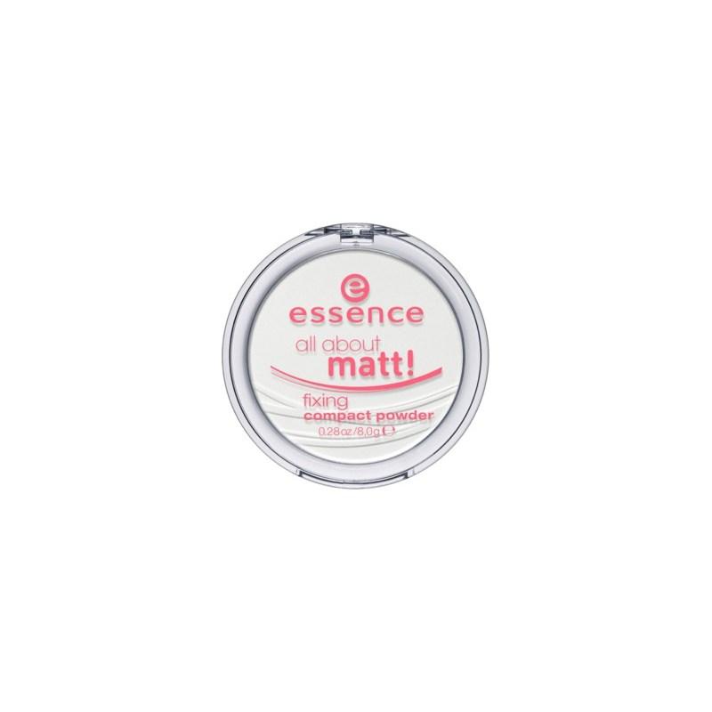 Матирующая компактная пудра Essence all about matt! fixing compact powder