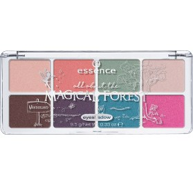 Тестер Палетка теней Essence all about the magical forest eyeshadow 07