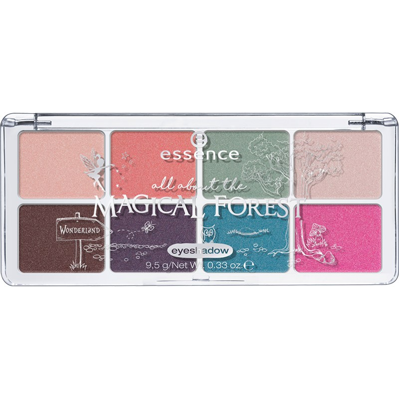 Палетка теней Essence all about the magical forest eyeshadow 07