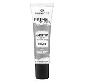 Матирующий праймер Essence prime+ studio mattifying + pore minimizing primer