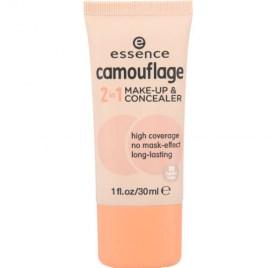 Тестер Тональный крем-консилер Essence camouflage 2in1 make-up & concealer