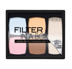 Палетка для лица Catrice Filter In A Box Photo Perfect Finishing Palette