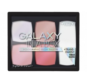 Палетка хайлайтеров Catrice Galaxy In A Box Holographic Glow Palette