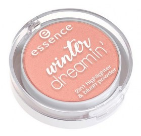 Румяна и хайлайтер 2 в 1 Essence Winter Dreamin' 2 in 1 Highlighter & Blush Powder