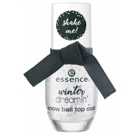 Топовое покрытие для ногтей Essence Winter Dreamin' Snow Ball Top Coat