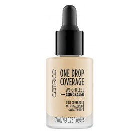 Жидкий консилер в каплях Catrice One Drop Coverage Weightless Concealer
