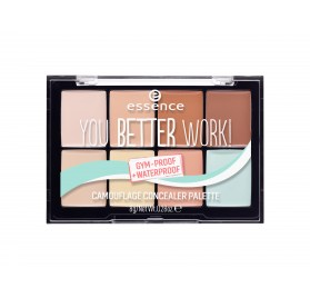 Палетка консилеров Essence you better work! camouflage concealer palette