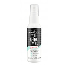 Спрей для фиксации макияжа Essence you better work! fixing spray