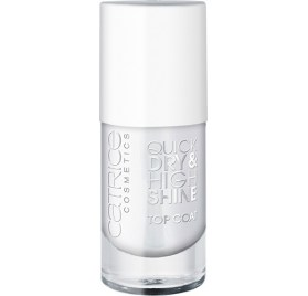 Топовое покрытие Catrice Quick Dry & High Shine Top Coat